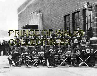 1940(b) TORONTO MAPLE LEAFS TEAM PHOTO 8X10