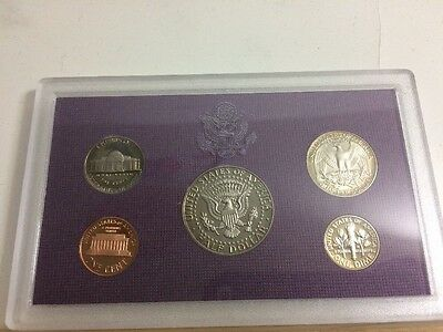 United States Mint Proof Set 1988 - 5 Coins - Purple
