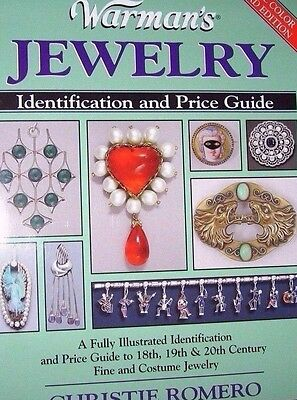 JEWELRY PRICE GUIDE COLLECTORS BOOK Pins CHARMS Rings NECKLACE Earrings ++