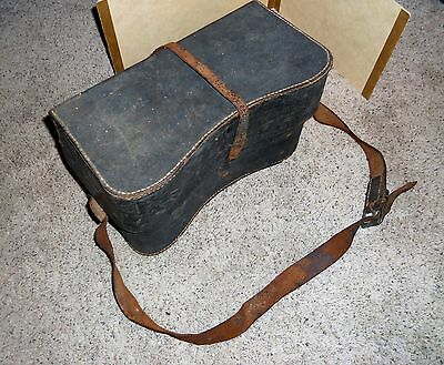 Antique Kidney Shaped Tool Camera Doctor Case Very Rare