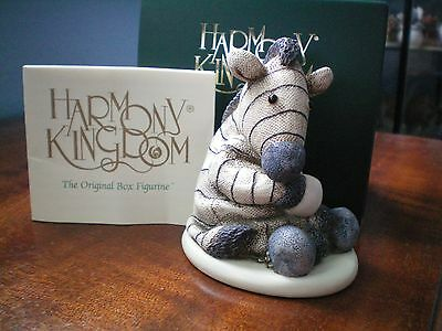 Harmony Kingdom 500 Club Ebsy Zebra Jellie Cat UK Made Box Figurine LE 500 SGN