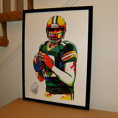 Aaron Rodgers, Green Bay Packers, Quarterback, Football, Sports, 18x24 POSTER 2