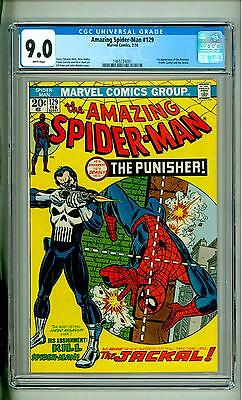 Amazing Spider-Man #129 Cgc 9.0 White Pages