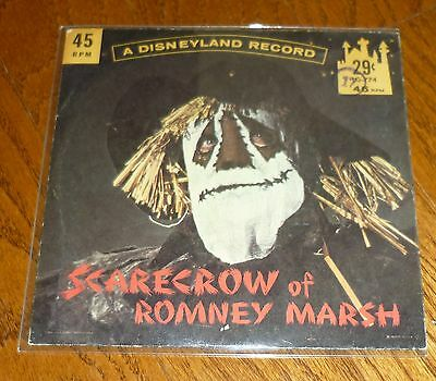 1962 Walt Disney Scarecrow of Romney Marsh 45rpm record with picture sleeve