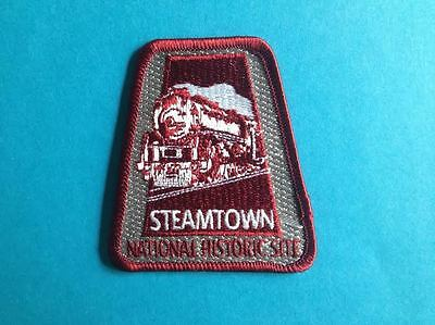 Steamtown National Historic Site Hat Jacket Vest Backpack Travel Patch