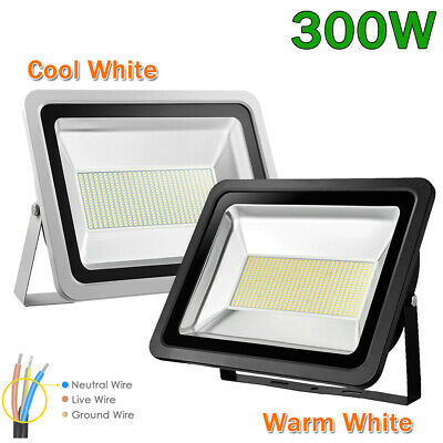300w Cool Warm White Led Flood Light Outdoor Landscape Security