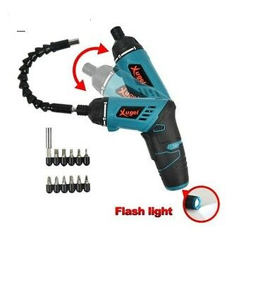 3.6V Electric Battery Power Screwdriver Adjustable cordless screwdriver