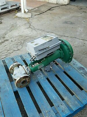 """1 1/2"""" (1.5"""") 600 Flanged Fisher Control Valve Type ET w/ 667 Size 34 Actuator"""