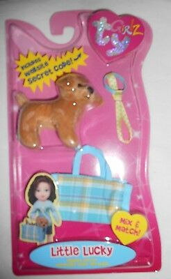 Ty Girlz Dog Little Lucky New In Package