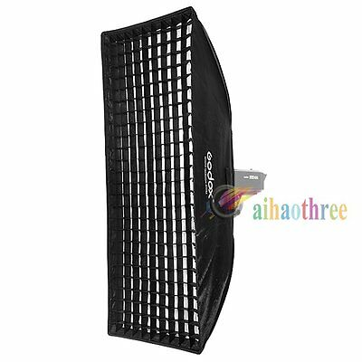 Godox 50x130cm Bowens Mount Softbox With Grid For Studio Strobe Flash Light【AU】