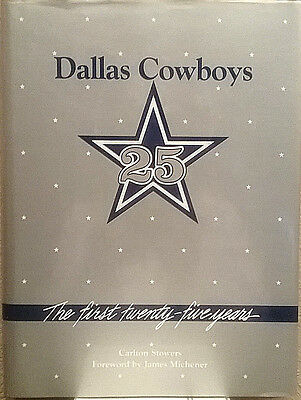 Pristine! • Dallas Cowboys • First Twenty Five Years • Stowers | FREE Shipping!