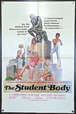 The Student Body (1976) – Original One Sheet Movie Poster **Sexploitation**