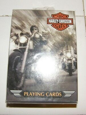 Unopened Deck of Harley-Davidson Motor Cycles Bicycle Playing Cards Deck USA