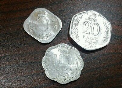 3 Different  - INDIA  COINS--EXCELLENT CONDITION # 006-