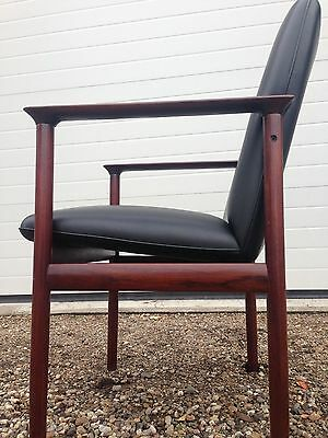 A Pair Of 1960 Danish Rosewood Armchairs. Vintage. Retro. Free London delivery.