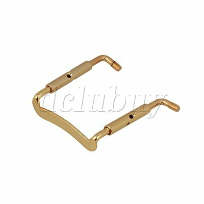 HOT SALE Gold brass 3/4 4/4 Violin Fiddle Chinrest Clamp