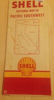 Shell Sectional Map Of Pacific Southwest