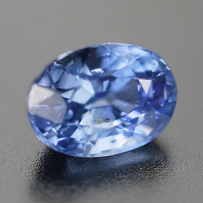 Natural Gem 1.35 Ct Dazzling Fire Crystal Fire Cornflower Blue Ceylon Sapphire