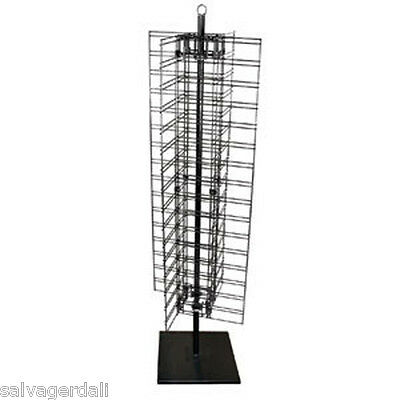 Slatgrid Gridwall Slatwall Grid Spinner Retail Store Floor Standing Display NEW