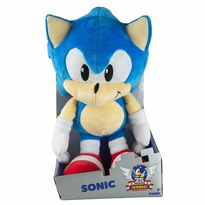Sonic The Hedgehog 25th Anniversary 12 Inch Plush Classic Sonic *BRAND NEW*