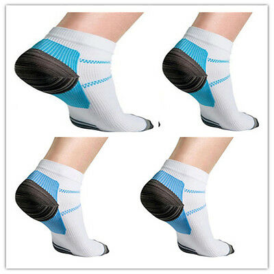 2 Foot Compression Socks For Plantar Fasciitis Heel Spurs Arch Pain Sport Sock W