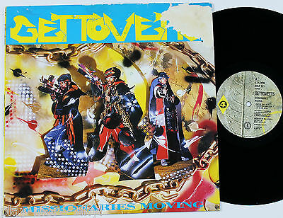 GETTOVETTS Missionaries Moving LP vinyl record UK 1988 4th & Broadway