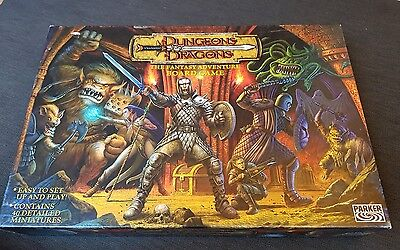 Dungeons and Dragons The Fantasy Adventure Board Game