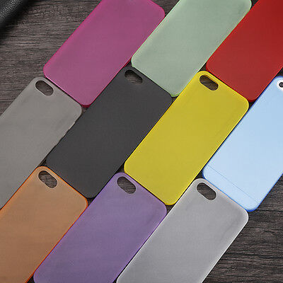 Ultra Thin 0.3mm Transparent Slim Case Cover For Apple iPhone 5 6 7 plus RP