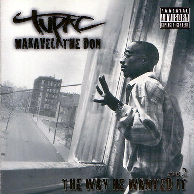 2Pac Tupac ‎– Makaveli The Don The Way He Wanted It Vol. 2 - Sealed (Box C145)