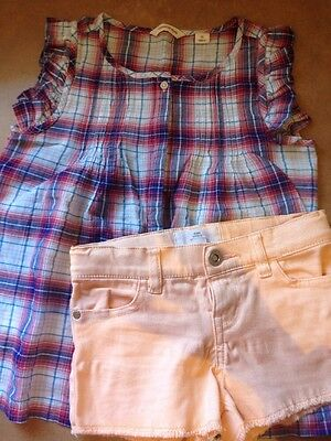 Country Road Shirt Size 5 & Shorts Size 4