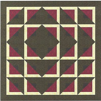 Easy Quilt Kit/ Maze/Pre-cut Fabric Ready To Sew!!!