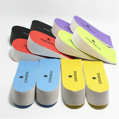 NEW Fashion Mens womens Increase Height Insoles Pads Insole Memory Foam EVA YF