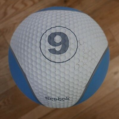 9kg Reebok Medicine / Weighted Ball ON SALE (CrossFit, Gym, Strength Studio)