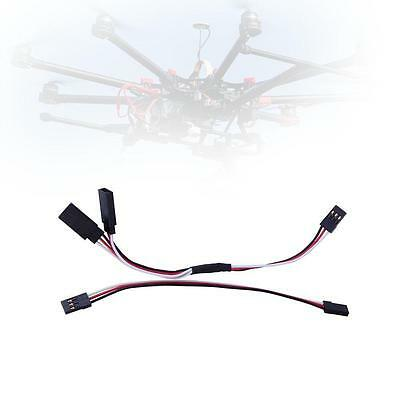 NEW 150mm Y Split Harness Cable Servo Leads Extension Wire For RC Helicopter YF