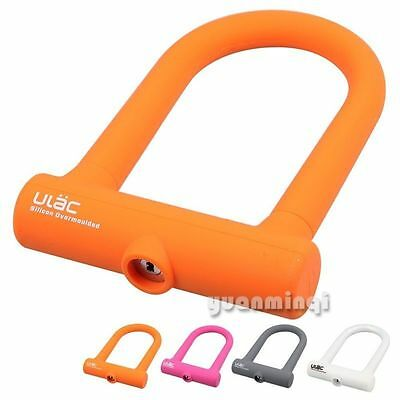 Bicycle Electric Mountain Bike Cycling Key U Lock Motorbike Anti Theft Security