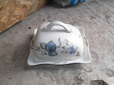 Vintage/retro/old Axe Vale Pottery Butter Dish
