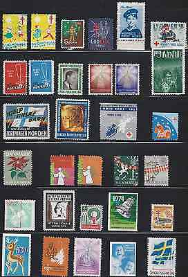 MANY COUNTRIES one scan 31 stamps