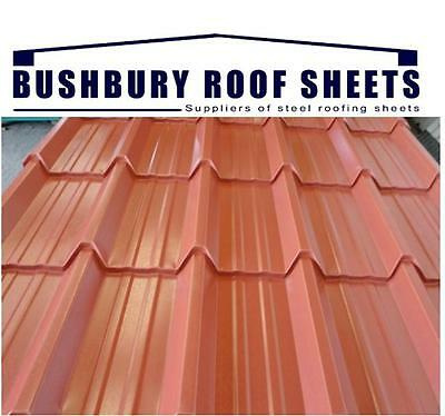 anti condensation tile effect roof sheets / pvc coated