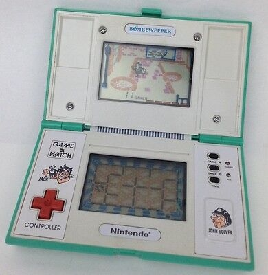 """Nintendo Game & Watch """"bombsweeper Bd-62"""" Very Rare, Collectable Game!!"""