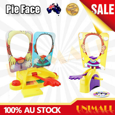 OZ New Showdown Pie Face Game Family Fun Filled Rocket Party Board Game Gift Toy