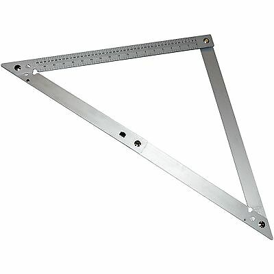 Aluminium Folding Square - 24 600mm Tilling Carpentry And Roofing Tools