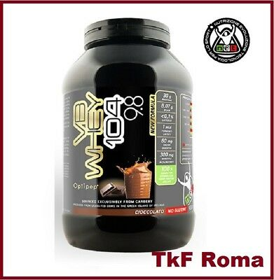 NET INTEGRATORI VB WHEY 104 9.8 900 gr Gusto Cioccolato