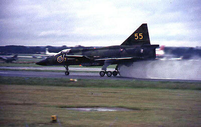 Original 35mm Aircraft Slide 1960/70s  ...55 7