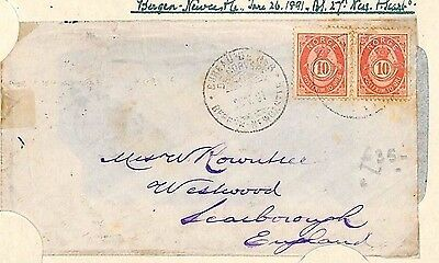 H23 1891 Norway Bergen Cover {samwells-covers}PTS