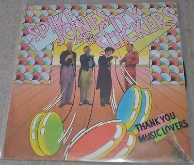 SPIKE JONES AND HIS CITY SLICKERS Thank You Music Lovers record LP vinyl comedy