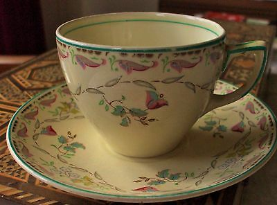 Vintage Furnivals Cup and Saucer, Made in England