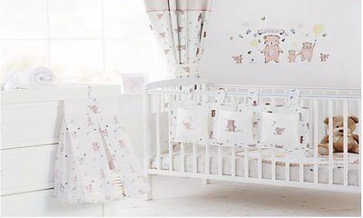 Little Bear Cot Tidy & Nappy Stacker Set Excellent for keeping Your Baby Nursery