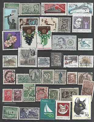 Small Collection of  Poland  Stamps  2   All Stamps  Pictured