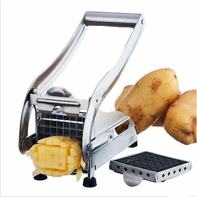 Stainless Steel Potato Chipper Cutter, Chopper, Slicer For French Fries & Chips