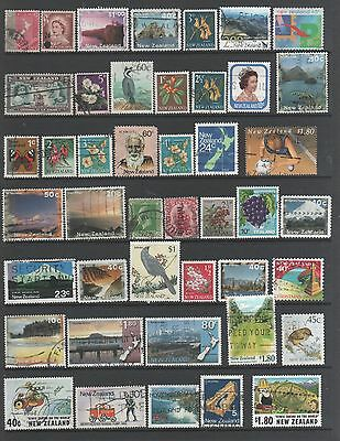 Small Collection of   New Zealand  Stamps 3 All The Stamps Pictured